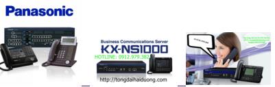 Lắp tổng đài ip phone KX-NS1000