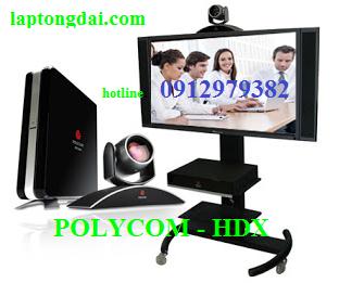 Lắp Thiết bị  hội nghị truyền hình  Polycom
