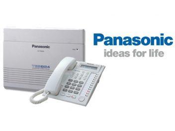 Lắp tổng đài điện thoại panasonic kx-tes824