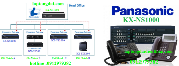 Tổng đài điện thoại |ip panasonic kx-ns1000|kx-ns1000