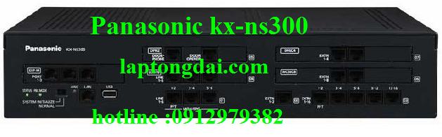 Tổng đài panasonic kx-ns300|ip pabx kx-ns300