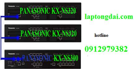 Tổng đài điện thoại |lắp tổng đài điện thoại panasonic kx-ns300