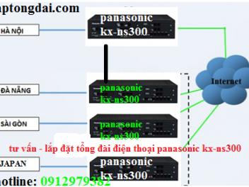 Lắp tổng đài kx-ns300|panasonic kx-ns300|kx-ns300