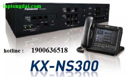 Lắp tổng đài điện thoại panasonic kx-ns300