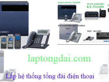 Lắp tổng đài Panasonic sử dụng từ 8 đến 960 điện thoại nội bộ
