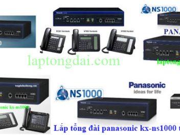 Lắp tổng đài ip kx-ns1000| ip panasonic kx-ns1000| kx-ns1000