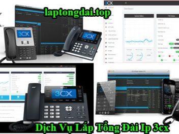 dịch vụ lắp tổng đài ip 3cx