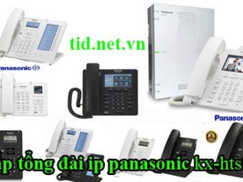 Dịch vụ cung cấp lắp đặt tổng đài Panasonic kx-hts 824