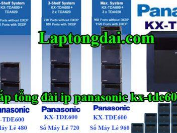 Lắp tổng đài Panasonic KX-TDA600