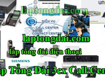 lắp tổng đài 3cx call center